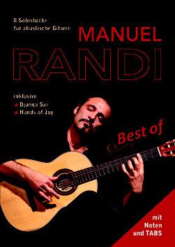 Manuel Randi - Best of (Noten für akustische Gitarre)