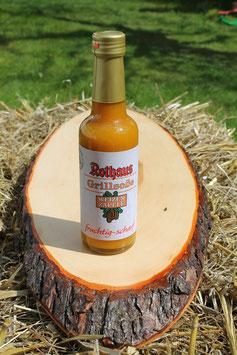 """Rothaus Steaksoße """"Weizen Zäpfle"""" - fruchtig-scharf - 240ml - mit 26% Hefeweizen"""