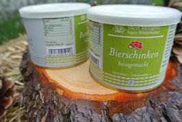 2 x  Bierschinken à 185g in der Dose - Metzgerei Winterhalter - Elzach