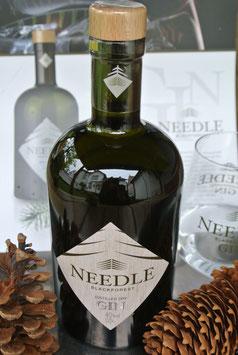 """""""Needle Blackforest Dry Gin"""" - Schwarzwälder Gin - 11 Botanicals - 0,5 Liter - 40% vol."""