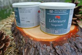 2 x Leberwurst à 185g in der Dose - Metzgerei Winterhalter - Elzach