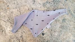 Wendetuch Haie Grau