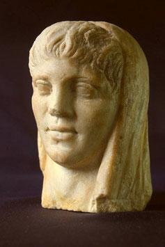 7  大理石像 古代ローマ(3~4世紀) 若い男性頭像  ★価格はご相談ください。