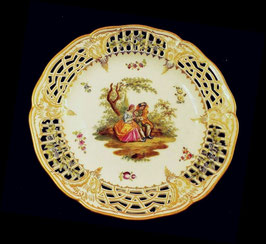 5 KPM ベルリン王立磁器製陶所 アンティーク 飾り皿 プレート