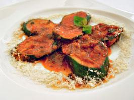 Zucchini in Tomatensauce
