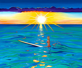 "Giclèe ""Salty Sunset"""