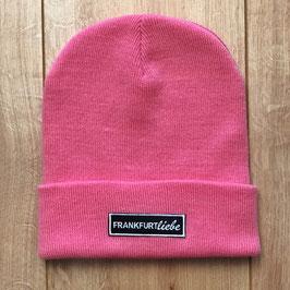 Beanie classic pink