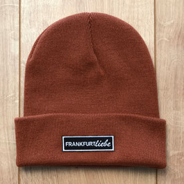 Beanie orange rust