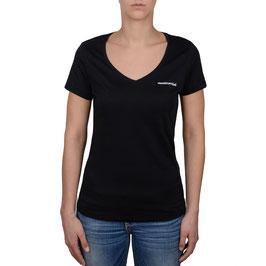 Deep V-Neck T-Shirt Woman