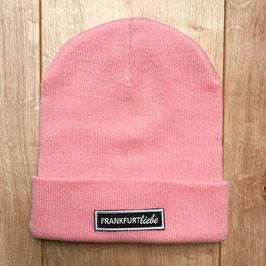 Beanie dusky pink