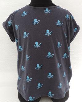"T-Shirt met Octopus Print "" Jbc """