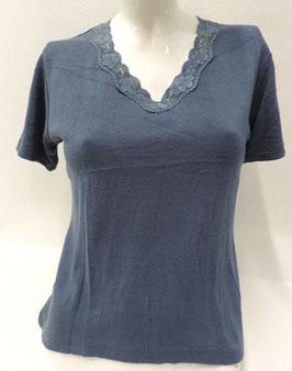 """V-Hals Bloes Shirt """" Poétic """""""