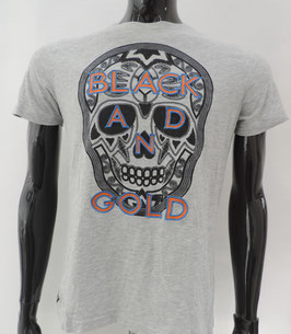 """T-Shirt """" BLACK AND GOLD """""""