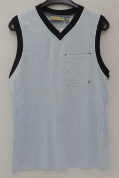 V-Hals Mouwloze T-Shirt