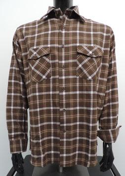 Geruit Hemd in zachte Flanel Maat XL