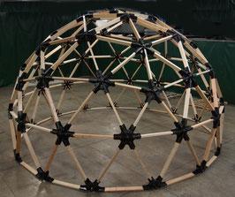 3v 2x6 Heavy Duty Wood Geodesic Hub Kit