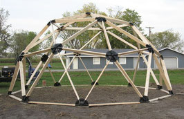 2v - 2x4 Wood Geodesic Hub Kit