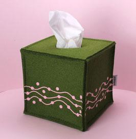 Taschentuch-Box Perlenschnur