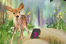 Handy Etui Polka Bambi