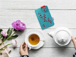 Handy Flupp Etui Blütenranke