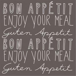 """Serviettes Papier """"Bon Appétit"""""""
