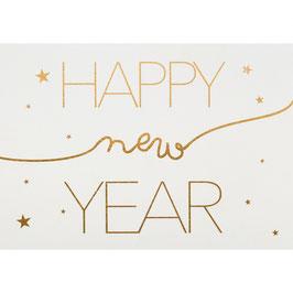 "Carte ""HAPPY new YEAR"""
