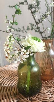Vase Vert en verre recyclé