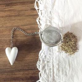 """Boule à thé """"cœur"""""""