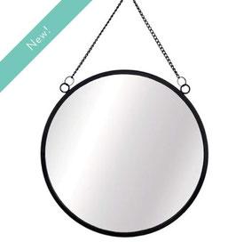 Miroir rond avec chaîne