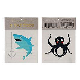 Tatoos Requin Pieuvre