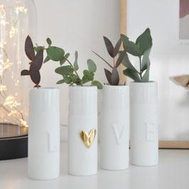 Mini Vases LOVE (set de 4)