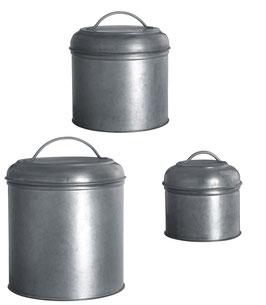 Boîtes en zinc