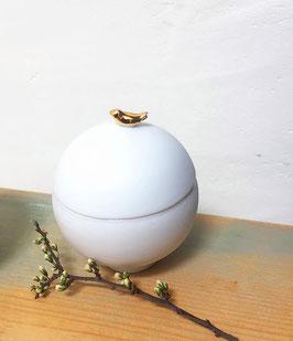 Boîte Porcelaine Oiseau
