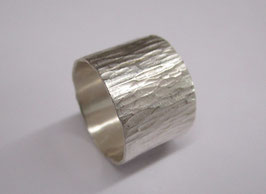 Silber Ring gehämmert Nr. 51