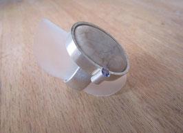 Ring mit Kiesel/Peridot Nr. 24