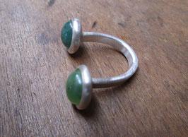 offener Ring Jade  Nr. 52