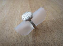 Silber Ring mit Seeigel Nr. 30
