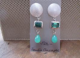 grüne Ohrringe Nr. 189