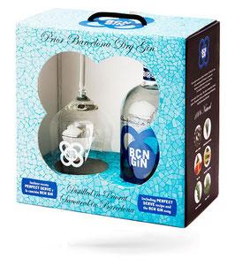 BCN Gin 0,7l Geschenkbox mit Glas