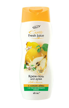 КРЕМ-ГЕЛЬ ДЛЯ ДУША АЙВА И ВАНИЛЬ С СОКОМ АЙВЫ, EXOTIC FRESH JUICE, 500мл.