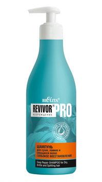 """Шампунь для сухих, ломких и секущихся волос """"Глубокое восстановление"""", Revivor Pro возрождение, 500мл"""