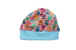 Mütze Blumen (M46/5)