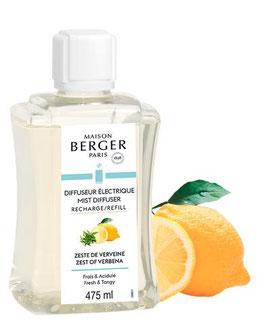 Zitronen-Verbene Refill für elektrischen Aroma Diffuser 475ml
