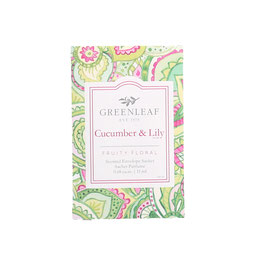 Cucumber and Lilly  - Small Sachet