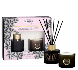Lampe Berger DUO Parfume Bouquet & Candle