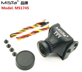 Mista 700TVL 1/3 CCD 2.1mm Wide Angle HD Color FPV Camera PAL/NTSC