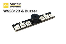 Matek WS2812B LED Board With 5V Buzzer For Naze 32 Skyline 32 Flight Controller