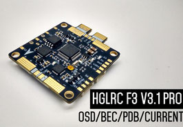 HGLRC  F3 V3.1 6Dof  Flight Control AIO Intergrated with OSD BEC PDB and Current Sensor