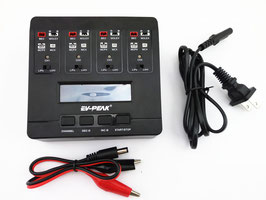 EV-PEAK E6 4.35W AC/DC Smart Lipo Charger for JST MCPX MCX MOLEX Plug