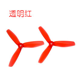 2 Pairs Kingkong CLEAR 5x4.0x3 5040 5 Inch 3-Blade Propeller CW CCW
